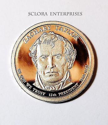 2009 S Zachary Taylor Presidential Dollar Proof Coin  **free Shipping**