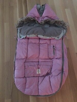 7 am footmuff pink by Enfant 18 mo to 3 toddler
