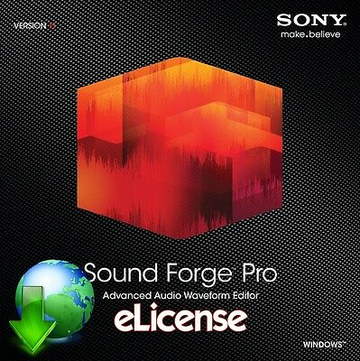 Sony Sound Forge Pro 11 3PC *DigitaI*