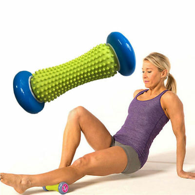 Hand Foot Massage Roller for Pain Relief Muscle Back Body Relax Health Therapy