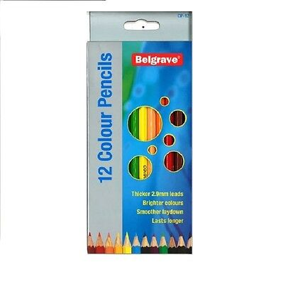 Belgrave Coloured Pencils 12 Pack  83000