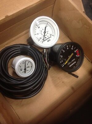 honda outboard gauges Fuel, Speedometer, and Tachometer