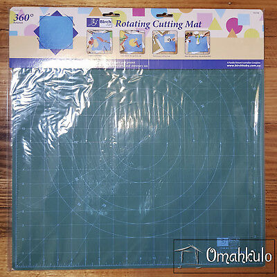 BIRCH - 45cm x 45cm Rotating Craft Self Healing Cutting Mat -*