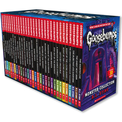 NEW Goosebumps Classic Collection by R. L. Stine - 30 Book Box Set EXP SHIPPING!
