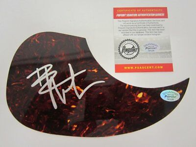 DAVE MATTHEWS Signed Acoustic Guitar Pick Guard COA
