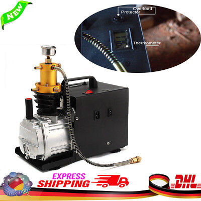High Pressure Air Pump 40Mpa Electric PCP Compressor Pump 220V 400bar 6000PSI