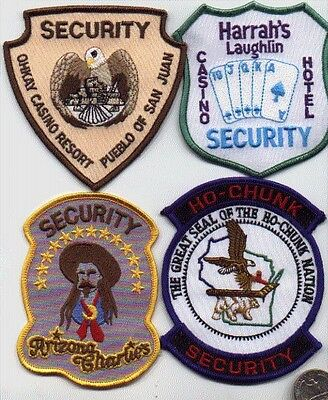 Casino Hotel Police Security Officer 1 Patch Harrah's Laughlin Nevada Gambling