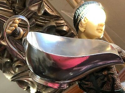 Silver Plate Mappin & Webb Sauce Boat.