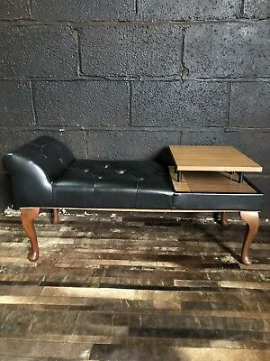 Mid Century Telephone Table Seat