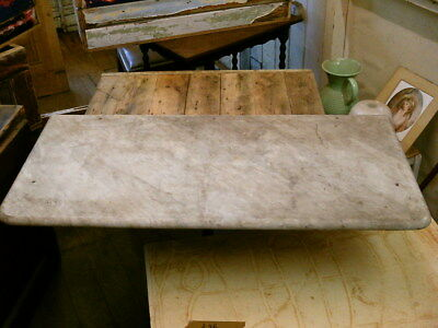 victorian antique solid marble wash stand top no 1567 courier option
