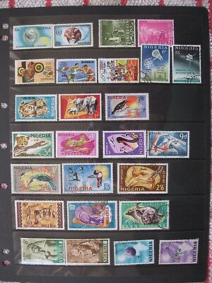 Selection Of Mostly Sets Of Nigeria Stamps, Very Fine Used,