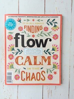Flow Magazine Issue 18 Well-being Magazine Back Issue Free Postage