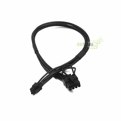 PCIe Mini 6-pin to 8-pin Pci-express Video Card Power Cable for Apple Mac Pro AU
