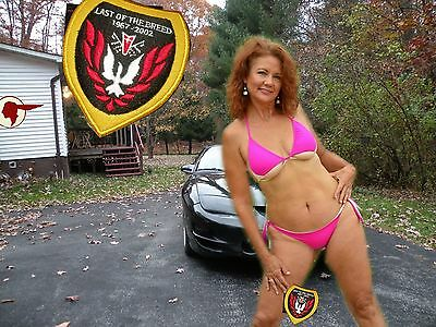 PONTIAC    TRANS AM LAST OF THE BREED  2002  Patch  1967