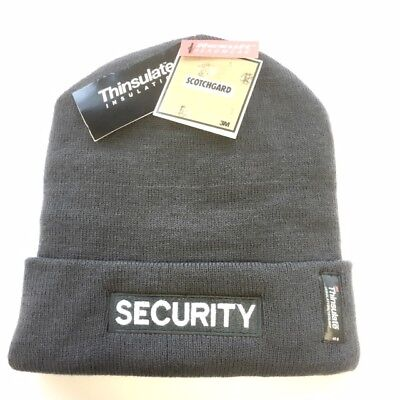 Security Branded Quality Woolly Hat in Grey Door Personnel, SIA - SPECIAL OFFER