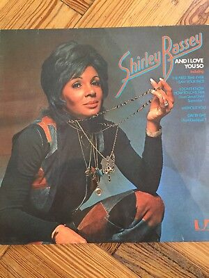 Shirley Basset And I Love you so Jazz Soft Rock