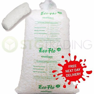 15 30 45 90 Cubic Feet Of Ecoflo Loose fill Packing Peanuts FAST