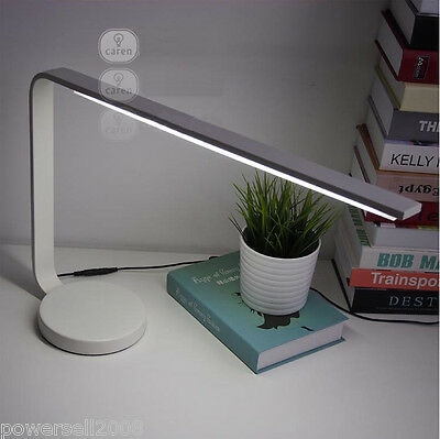 European Simplicity Metal White LED Right-Angle Height 40cm Creative Table Lamp