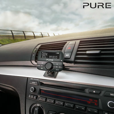 Pure Highway 400 In Car DAB Digital Radio Adapter Mobile Music Controller