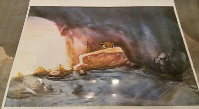 DISNEY THE LAND BEFORE TIME  original Animation cels Don Bluth