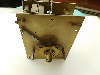 Antique Longcase Fusee Clock Movement