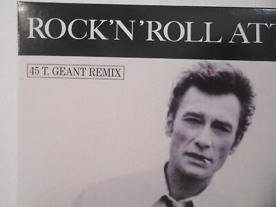☆ JOHNNY HALLYDAY ☆ CD REMIX PROMO : ROCK'N'ROLL ATTITUDE (de MICHEL BERGER)