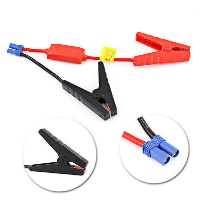 Booster Cable Car Prevent Reverse Charge Battery Connection Jumper Jump Start