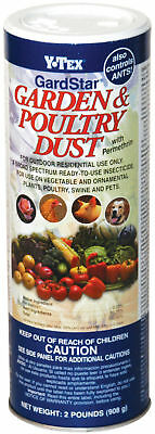 Gardstar Garden Poultry Dust 2 Pounds Ready to Use Insecticide