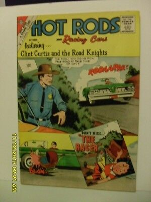 Hot Rods Charlton Comic No.54 1961 V/fine