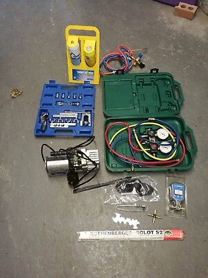 Excellent condition tools for refrigeration engineer