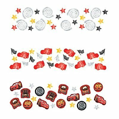 Pack of 3 Disney Pixar Cars Table Confetti - 34g - Party Tableware Decorations