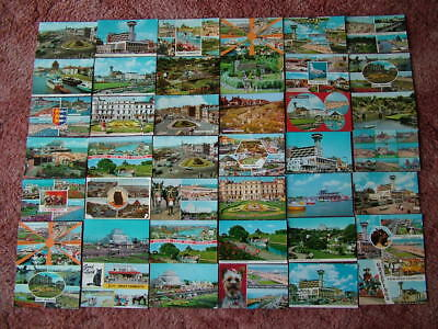 42 Postcards of GREAT YARMOUTH. 1960's - 1980's. Standard size..