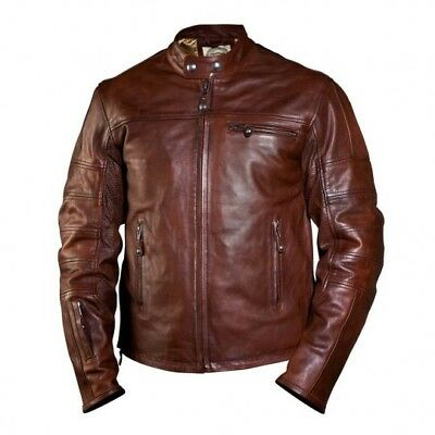Roland Sands Design Ronin Tobacco Leather Jacket Large XL