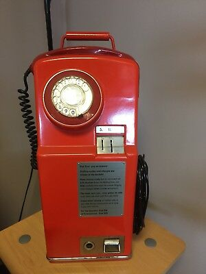 Red BT Pay Phone