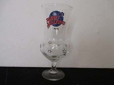 "Grand Verre "" Planet Hollywood Paris "" Vintage Collection"