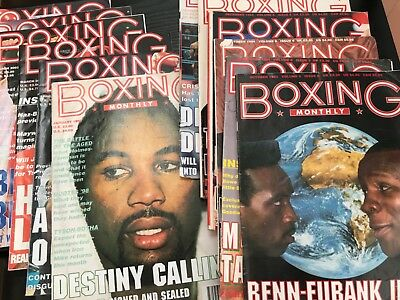 Boxing Monthly Magazines 1993 to 2003 - Job Lot of 12