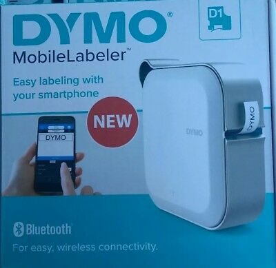 DYMO Mobile Labeler Label Maker with Bluetooth Smartphone Connectivity 1982171
