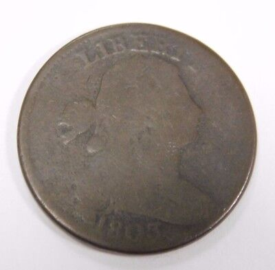 1803 Draped Bust Large Cent AG Check Pics!!