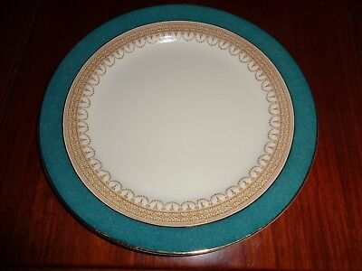 Losol Ware Keeling And Co Ltd CLAREMONT Green Circa 1930's? Dinner Plate