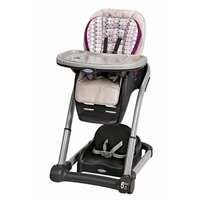 Graco Blossom 4-in-1 Convertible High Chair Seating System, Nyssa New=