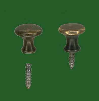 1 Aged/burnished Globe Wernicke® Bookcase Door Knob For That Perfect Restoration
