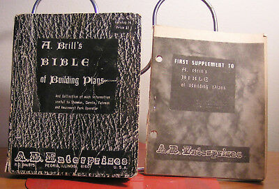 A. BRILL'S Bible VINTAGE CARNIVAL Equipment BUILDING PLANS CATALOG Sideshow Ride