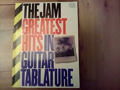 The Jam - Greatest Hits in Guitar Tablature