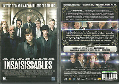 DVD - INSAISISSABLES avec MICHAEL CAINE, MORGAN FREEMAN / COMME NEUF - LIKE NEW