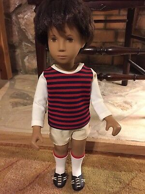 VERY SPORTY! #303 Sasha Gregor Dark Sport Boy Doll with great original box!!