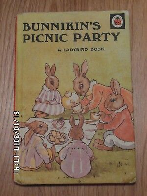 Ladybird Book, Bunnikin's Picnic Party, Series 401.