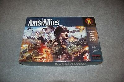 Axis and Allies Revised Edition (2004) Board Game - Complete!