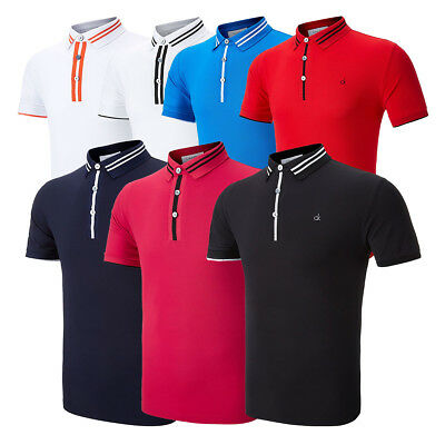 Calvin Klein NRG Performance Golf Polo Shirt 58% OFF RRP