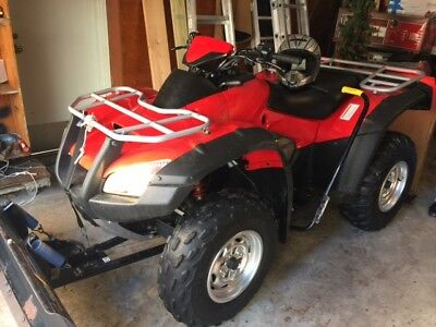 2004 HONDA FOURTRAX RINCON 650 ATV LIKE NEW ONLY 76.8hrs OF USE / INCLUDES MORE.