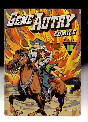 Gene Autry 4 Fawcett comic 1943 Married comic Ray Miller Collection